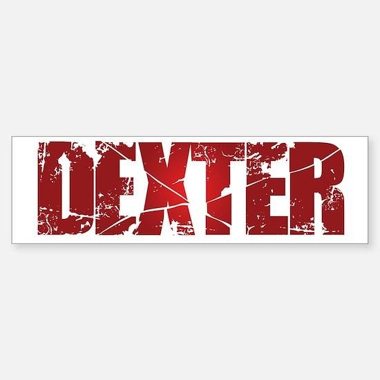 [Red] Dexter Sticker (Bumper)
