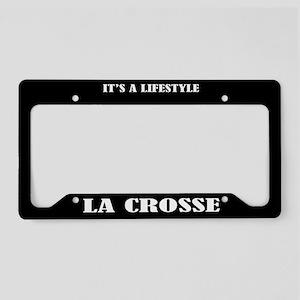 La Crosse Sports License Plate Holder Frame