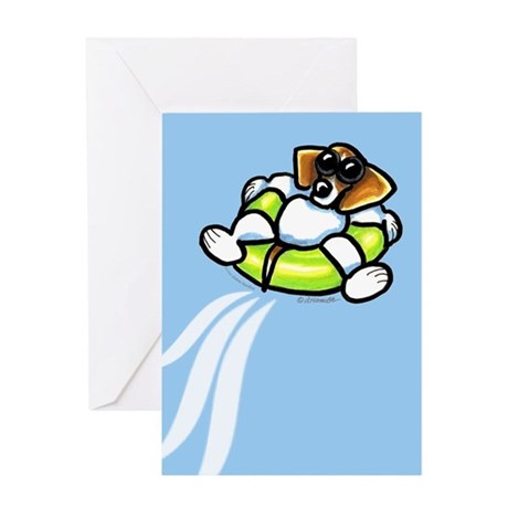 Funny Beagle Happy Birthday Greeting Card