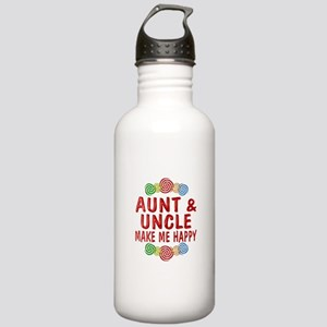 Aunt Uncle Happiness Stainless Water Bottle 1.0L