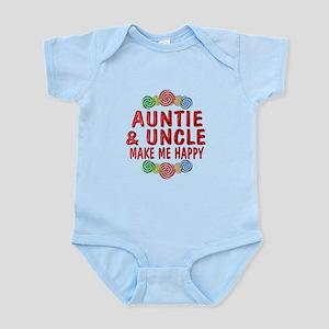 Auntie Uncle Happiness Infant Bodysuit