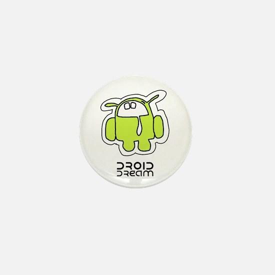 Droid Dream (Android Virus) Mini Button