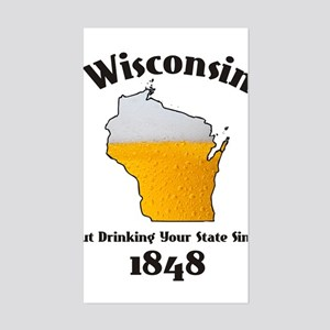 WISCONSINS BETTER THEN YOU LARGE Sticker