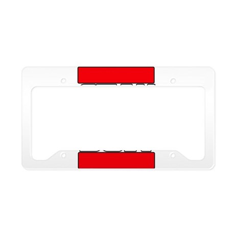 Stay at home License Plate Holder