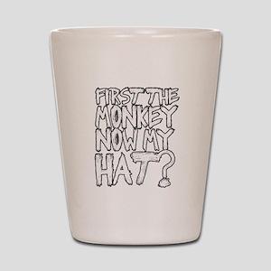 Monkey and Hat Shot Glass