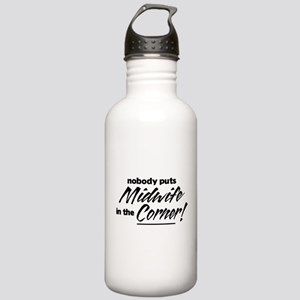 Midwife Nobody Corner Stainless Water Bottle 1.0L