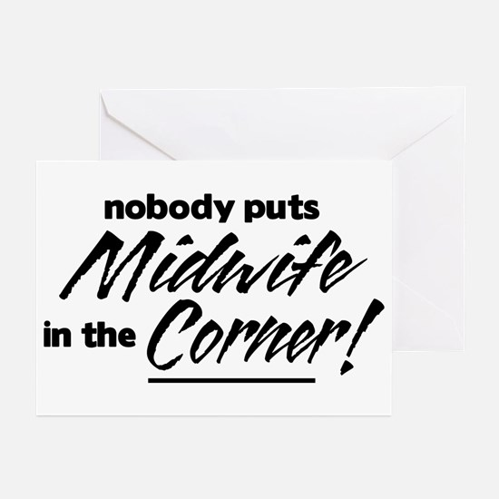 Midwife Nobody Corner Greeting Cards (Pk of 10)