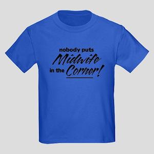 Midwife Nobody Corner Kids Dark T-Shirt