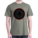 Mediarena L lens red ring Dark T-Shirt