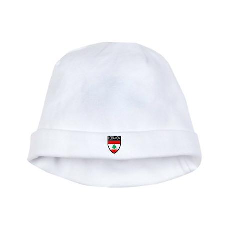 Lebanon Flag Patch baby hat