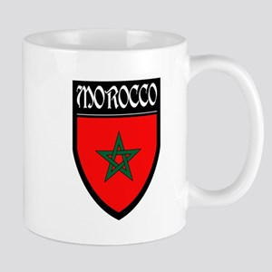 Morocco Flag Patch Mug