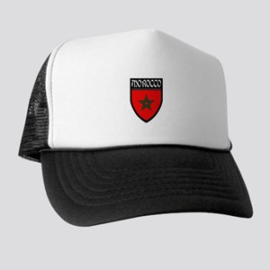 Morocco Flag Patch Trucker Hat