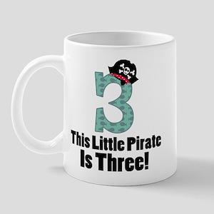 3rd Birthday Pirate Mug