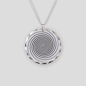 HypnoDisk Necklace Circle Charm