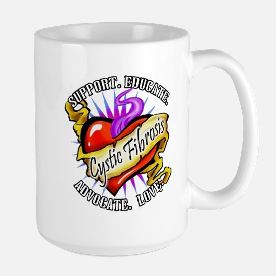 Cystic Fibrosis Large Mug