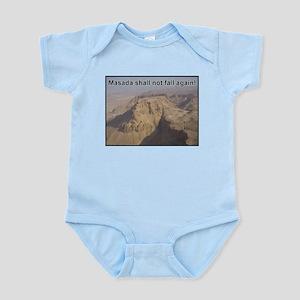 Masada Shall Not Fall Again Infant Bodysuit