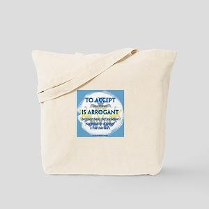 ACIM-To Accept Tote Bag