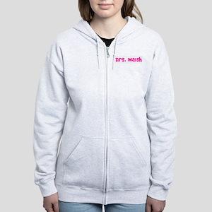 Mrs. Walsh Women's Zip Hoodie
