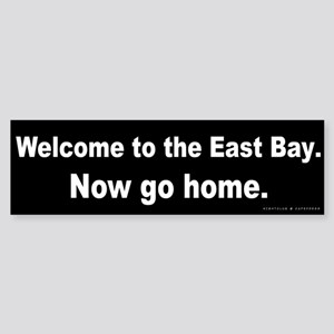 Welcome/East Bay Sticker (Bumper)