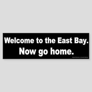 Welcome/East Bay Sticker (Bumper)