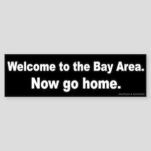 Welcome/Bay Area Sticker (Bumper)