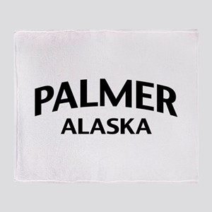 Palmer Alaska Throw Blanket