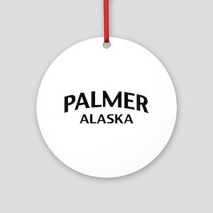 Palmer Alaska Ornament (Round)