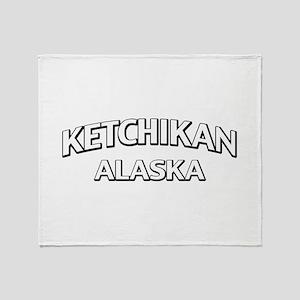 Ketchikan Alaska Throw Blanket
