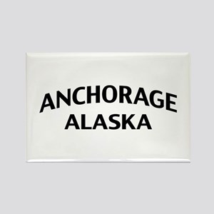 Anchorage Alaska Rectangle Magnet
