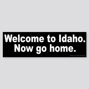 Welcome to Idaho Sticker (Bumper)
