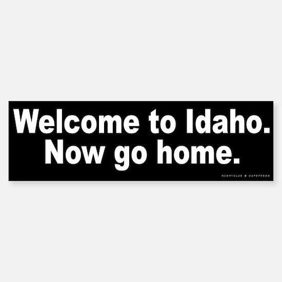 Welcome to Idaho Sticker (Bumper)