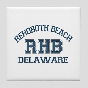 Rehoboth Beach - Varsity Design Tile Coaster