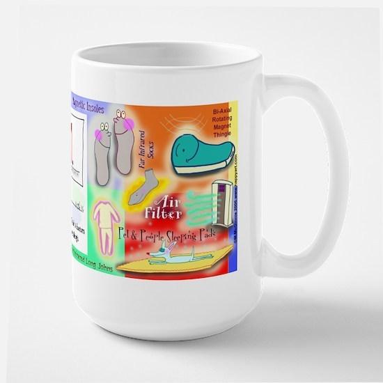 Nikken Consultant's Colorful Large Mug