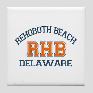 Rehoboth Beach DE - Varsity Design Tile Coaster