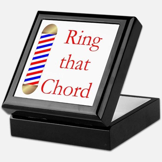 Ring that Chord Keepsake Box
