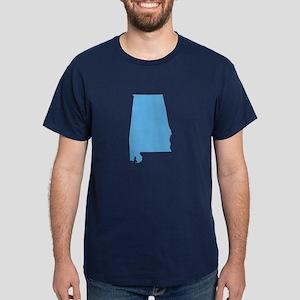 Baby Blue Alabama Dark T-Shirt