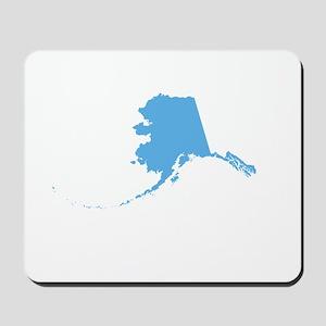 Baby Blue Alaska Mousepad