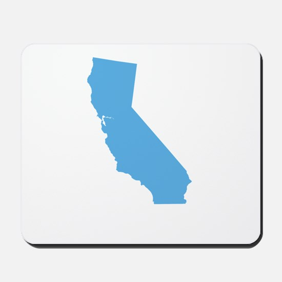 Baby Blue California Mousepad