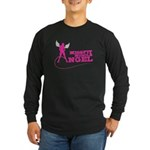 Missfit Muscle Angel Long Sleeve Dark T-Shirt