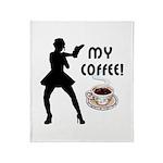 My Coffee Throw Blanket