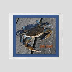 Ooh crab! Throw Blanket