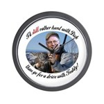 Rather Hunt with Cheney Wall Clock