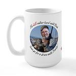 Rather Hunt with Cheney Large Mug