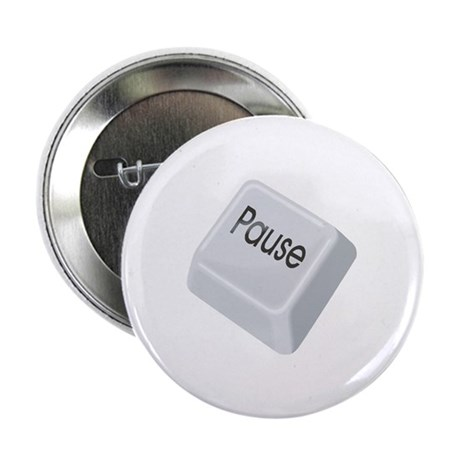 """Pause Key 2.25"""" Button (100 pack)"""