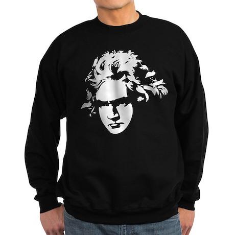 Beethoven Silhouette Sweatshirt (dark)
