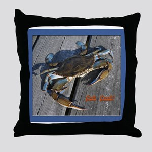 Ooh crab! Throw Pillow