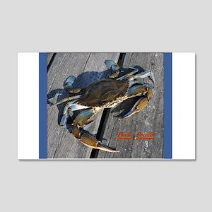 Ooh crab! 22x14 Wall Peel