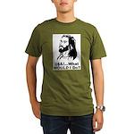 @$!&...What WOULD I Do? Organic Men's T-Shirt (dar