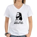 @$!&...What WOULD I Do? Women's V-Neck T-Shirt