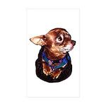 Chihuahua Sticker (Rectangle 50 pk)